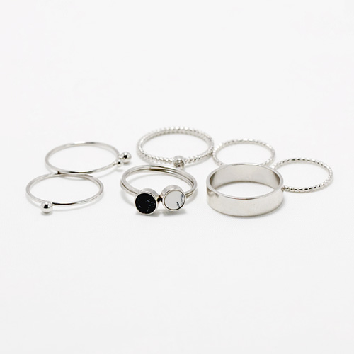 1047869 - <RI843_JI01> [8Piece 1set] barris slim ring
