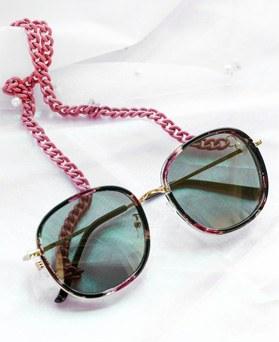 1047919 - <FI154_B> Color bold glasses chain