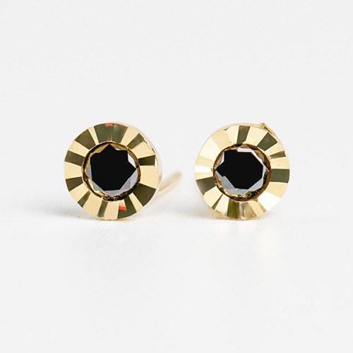 1048014 - <ER2016_GJ13> [10K Gold] Orix earrings