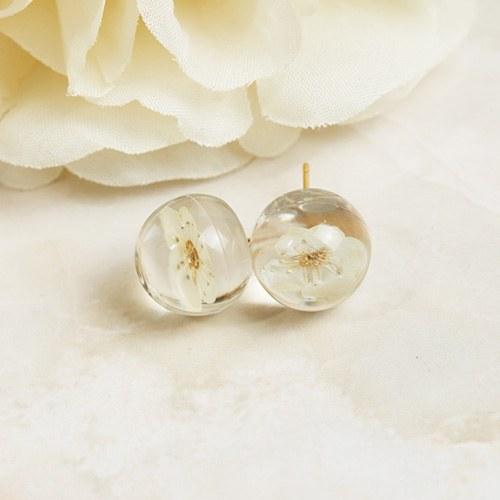 1048020 - <ER1984_DL14> [clip type] Iri flower earrings