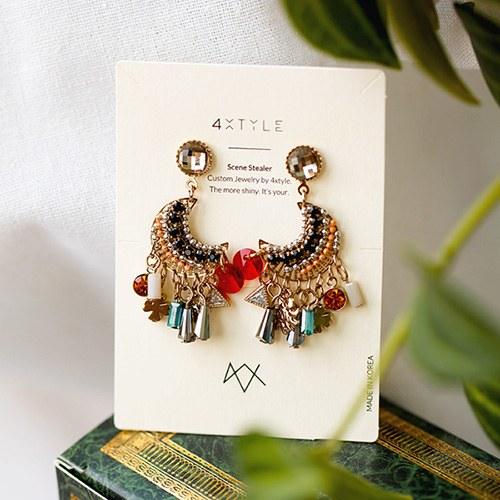 1048038 - <ER2014_CG05> [handmade] Clarette drop earrings