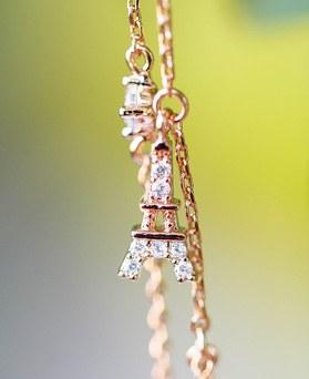 1048065 - <BC786_IC01> Eiffel star bracelet