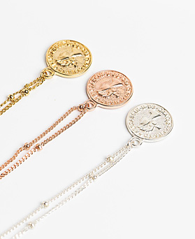 1048161 - <BC785_IA03> [Silver] Odela coin bracelet