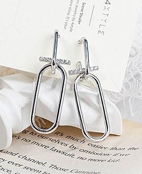 1048168 - <ER2040_DA30> Droit drop earrings