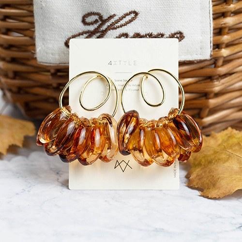 1048258 - <ER2043_CC16> [handmade] obiet earrings