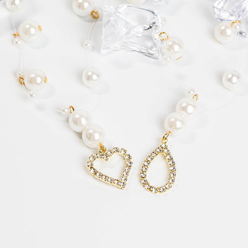 1048260 - <NE552_BB17> Ely pearl choker necklace