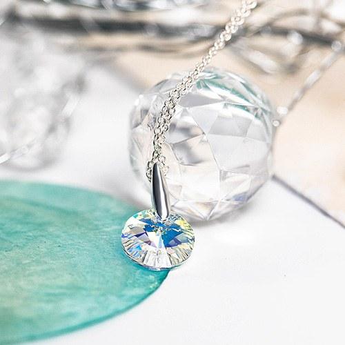 1048327 - <NE558_BB04> [Swarovski] [Silver] Aurora Swarovski necklace