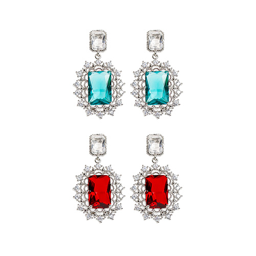 1048345 - <ER2025_DE08> [clip type] Etrere crystal earrings