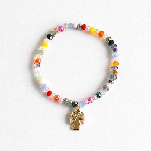 1048350 - <BC795_IF18> [handmade] Diane beads crystal bracelet