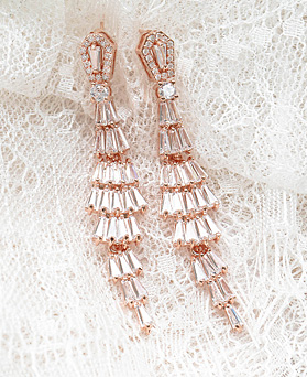 1048360 - <ER2062_DL16> Welly dressy crystal earrings