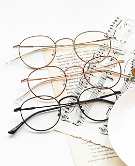 1048391 - <FI163_CA00> City slim round glasses