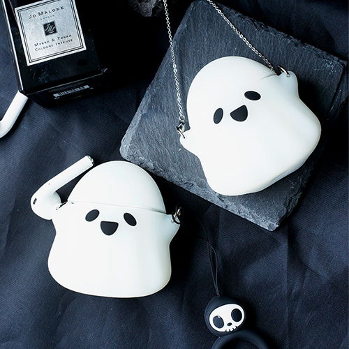 1048456 - <AP0316> Halloween Ghost Luminous AirPods Compatible with Case