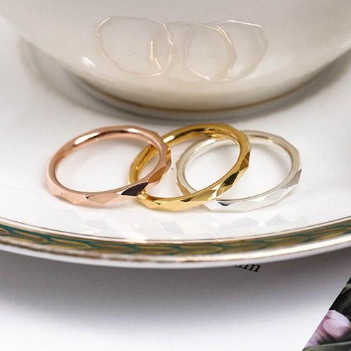 1048531 - <RI855_AG01> [Silver] simple cutting ring