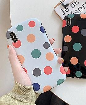 1048547 - rainbow dot iphone case
