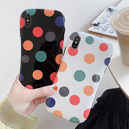 1048547 - <FI203_DM03> rainbow dot iphone case