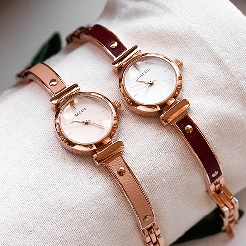 1048574 - <WC129_BE10> Lot metal leather watches