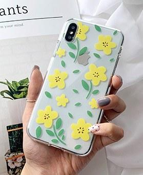 1048602 - Yellow Forsythia iphone case