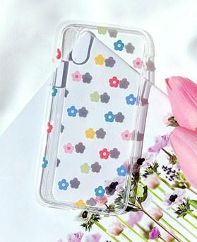 1048625 - <FI215_DM03> Bebe Flower Patterns iPhone Compatible case