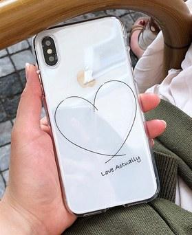 1048636 - <FI213_DM03> love letter heart iPhone Compatible case
