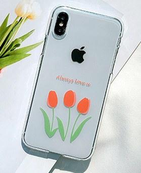 1048648 - <FI220_DM07> love you tulip iphone compatible case