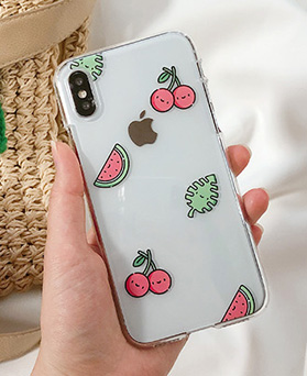 1048655 - <FI227_DM07> Hello fruit iphone compatible case