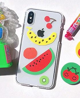 1048656 - <FI228_DM07> Fruits set iphone compatible case