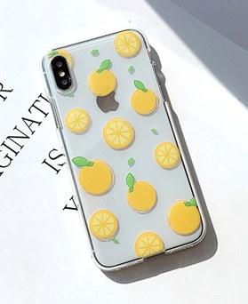 1048675 - <FI231_DM07> Sour lemon iphone compatible case