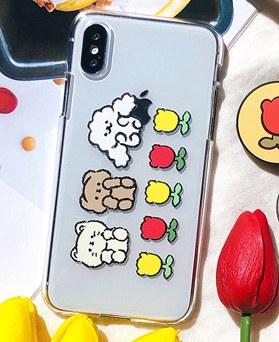 1048689 - <FI235_DM07> Animal friends iphone compatible case
