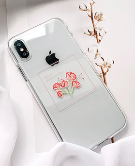 1048692 - <FI239_DM07> Gift carnation iphone compatible case