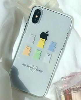 1048696 - <FI243_DM07> Bonbon gummi bear iphone compatible case