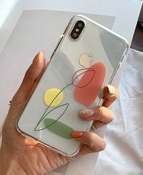1048698 - <FI245_DM07> Art tulip iphone compatible case