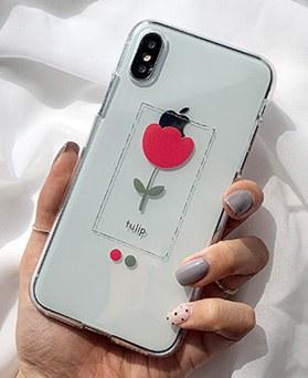 1048699 - <FI246_DM07> Single Tulip iPhone Compatible Case