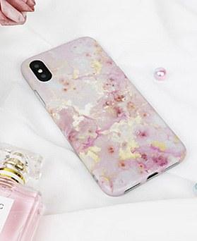 1048747 - <FI251_DM> Pink Sparkle iPhone Compatible Case