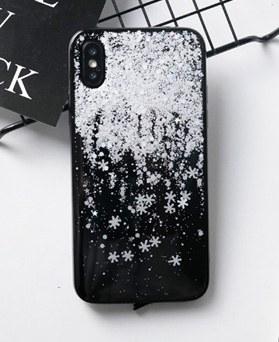 1048748 - <FI252_DM> white snow iphone compatible case