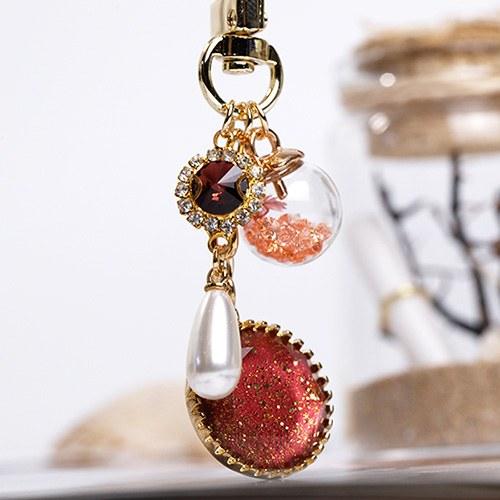 1048766 - <AP0402> [handmade] antique averina key ring