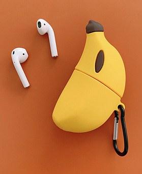 1048810 - <AP0419> petit banana airpod compatible case