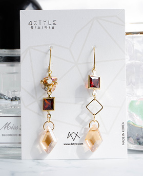 1048820 - <ER2133_DI22> [spring] [handmade] Effie crystal earrings