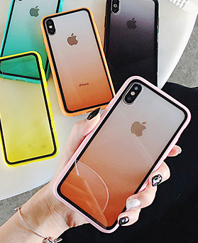 1048845 - Macaron gradation iphone case