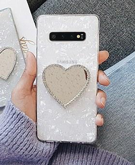 1048875 - <GP0001> white heart mirror galaxy case