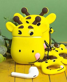 1048943 - <AP0456> Yellow Giraffe Airpod Compatible Case