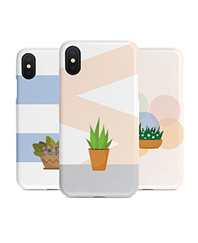 1048946 - <IP0026> modern plant iphone compatible case