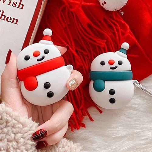 1048951 - <AP0458> Little Snowman AirPods Compatible Case