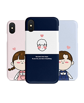 1048953 - <IP0031> Pretty Couples iPhone Compatible case