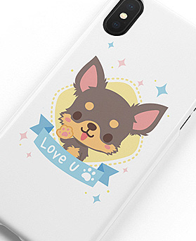 1048954 - <IP0032> Rubby Yorkshire Terrier iPhone Compatible Case