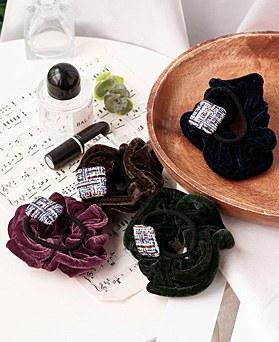 1048964 - <HA734_S> [Sold out] [2Piece 1set] Bor Velvet ponytail