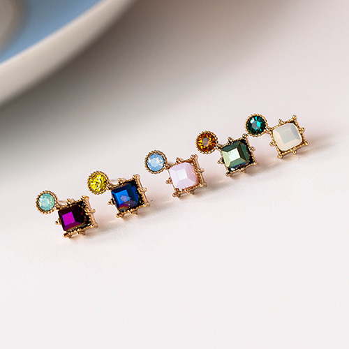 1048966 - <ER2149_DE26> Jenny crystal earrings
