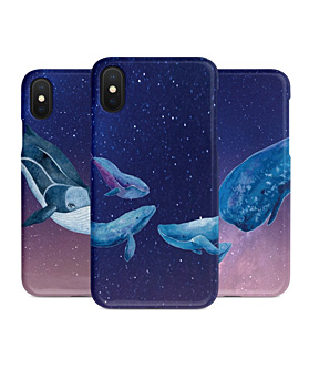 1048968 - <IP0038> Night Sky Whale iPhone Compatible Case