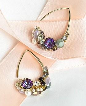 1049006 - <ER2159_DA14> [handmade] omile earrings