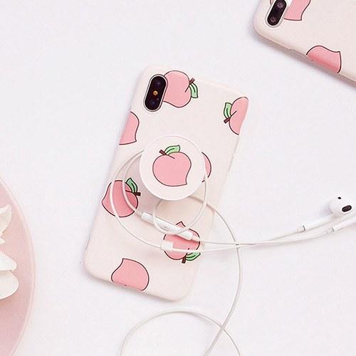 1049044 - <IP0050> sweet Peach SmartTalk iPhone compatible case