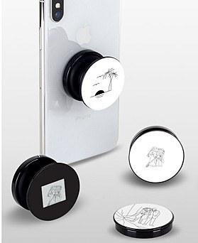 1049063 - <GR032> modern black white Illustration Grip Talk